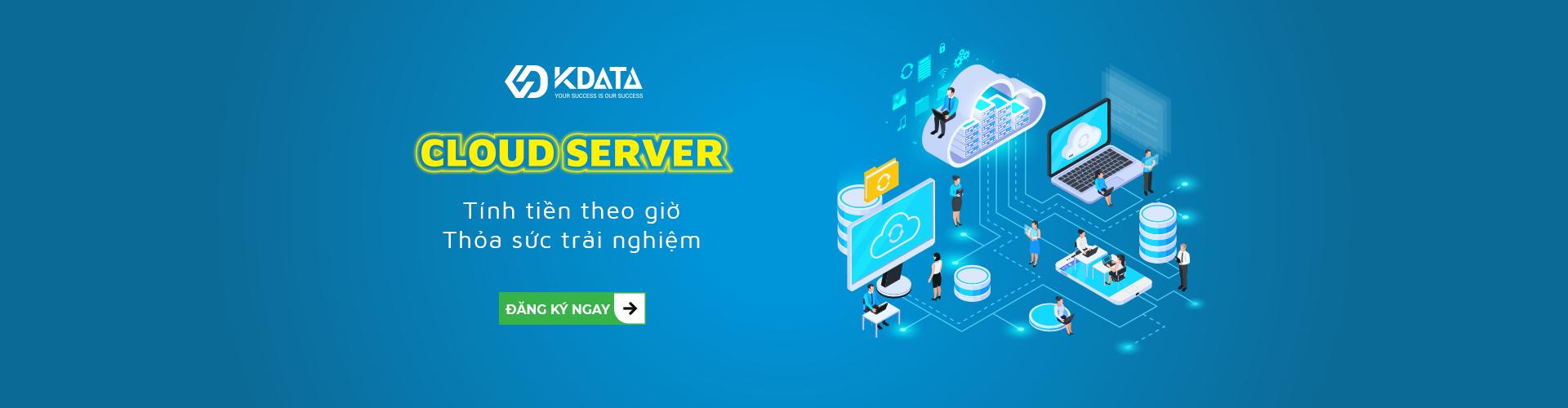 Cloud Server tính tiền theo giờ
